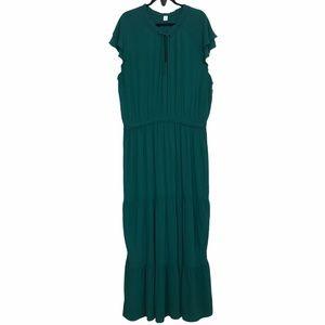 Old Navy Tiered Maxi Dress XXL Tall NWOT